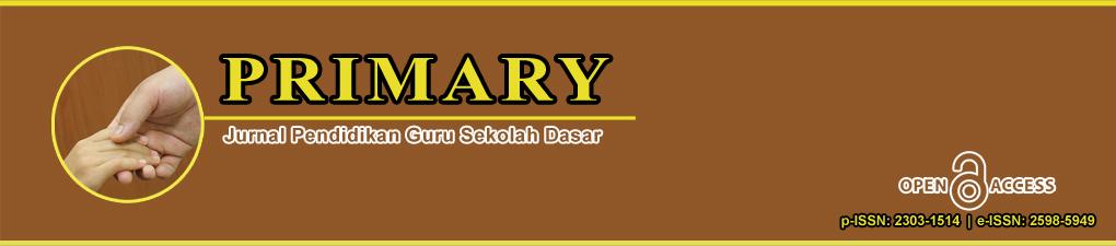 Primary : Jurnal Pendidikan Guru Sekolah Dasar